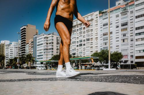 it must go on forever Healthy Care of the elderly Athletic Fitness Wellness Life Vacation & Travel Summer Sports Sports Training Jogging Masculine Man Adults