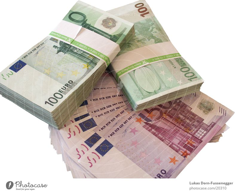 40.000,-- € Money Bank note 500 100 Euro