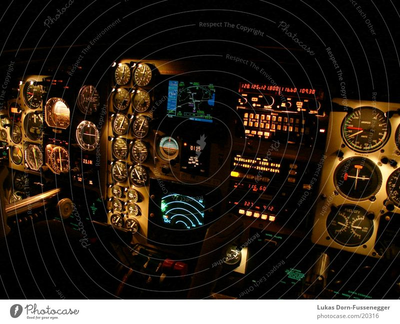 Airplane Aviation Technology Level Musical instrument Cockpit