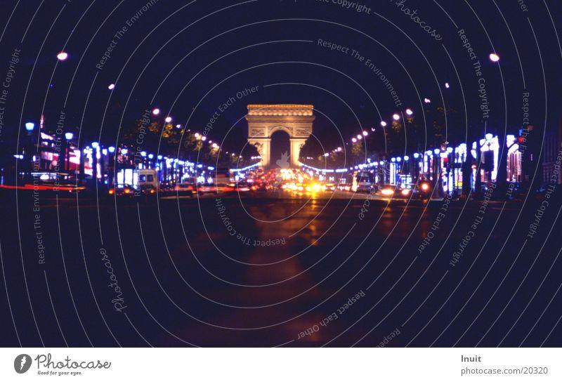 Car Transport Europe Paris France Arc de Triomphe