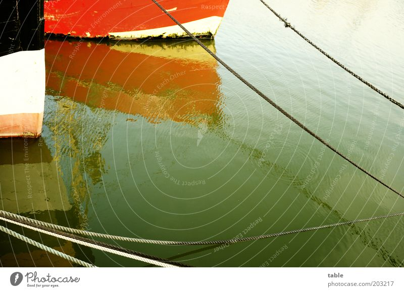 Water Old White Ocean Red Calm Black Wood Watercraft Metal Environment Rope Transport Harbour To hold on Navigation