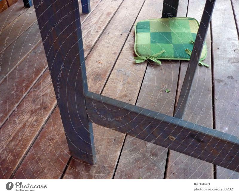 vanishing point. Style Terrace Ground Floorboards Line Stripe Bow Lie Wooden floor Veranda Fall down Colour photo Multicoloured Exterior shot Detail Deserted