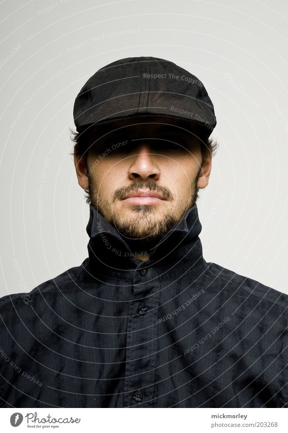 Human being Youth (Young adults) Head Adults Masculine Design Elegant Lifestyle Esthetic Cool (slang) Uniqueness Exceptional Facial hair Hat Shirt