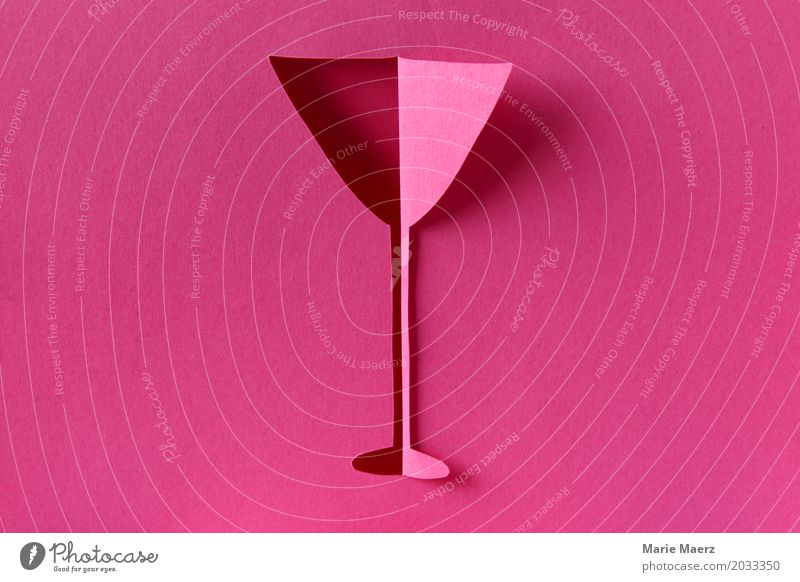 Joy Style Feasts & Celebrations Pink Elegant Glass To enjoy Uniqueness Illustration Beverage Drinking Restaurant New Year's Eve Exotic Bar Alcoholic drinks
