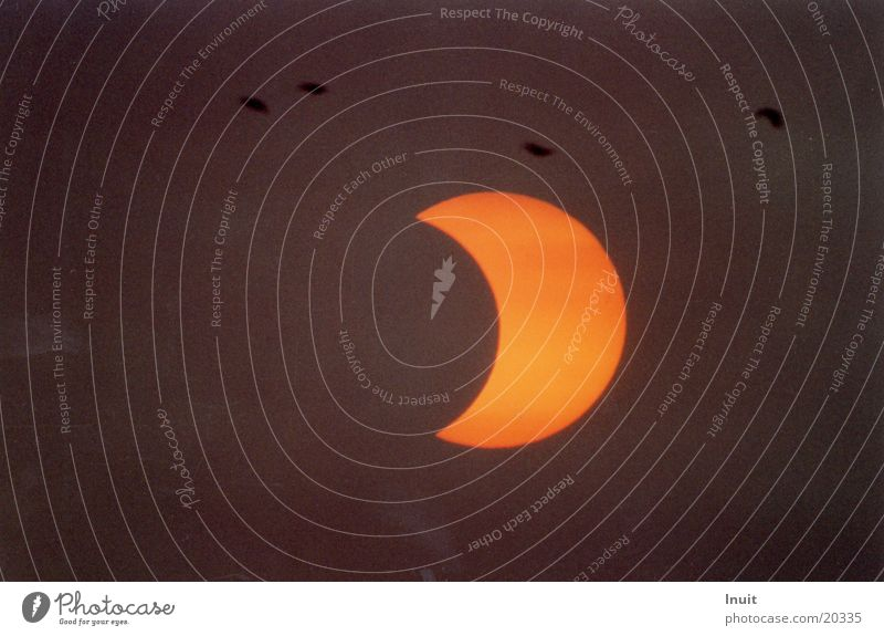 Sun Moon Solar eclipse Partial