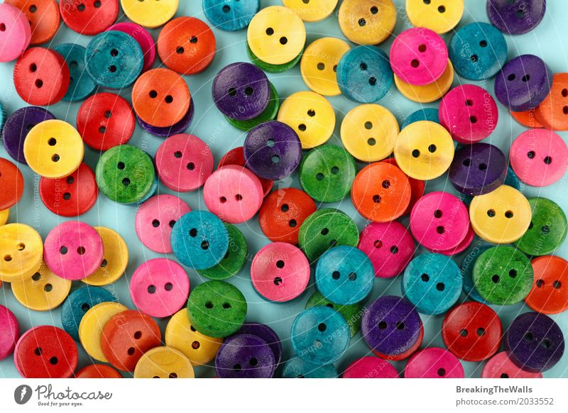 Colorful multicolor vivid buttons background Blue Colour Green Red Yellow Lifestyle Funny Natural Wood Art Design Leisure and hobbies Elegant Decoration