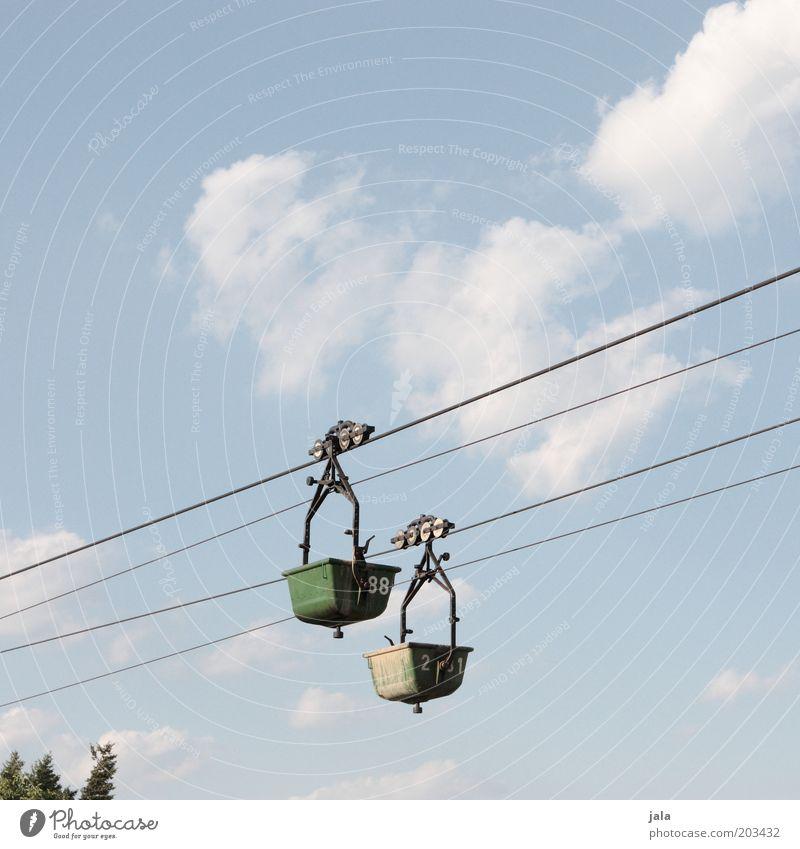 Sky Rope Driving Logistics Construction site Production Trough Cable car