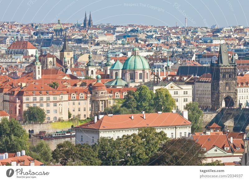 PRAGUE CITY Prague The Moldau Blue Vacation & Travel Travel photography Charles Bridge Czech Republic Lighting Town Europe City trip Card Sunbeam City life