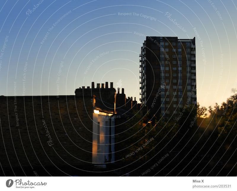 somewhere between Tottenham Hale and Hackney Downs. Town Capital city Outskirts House (Residential Structure) High-rise Old London Colour photo Exterior shot