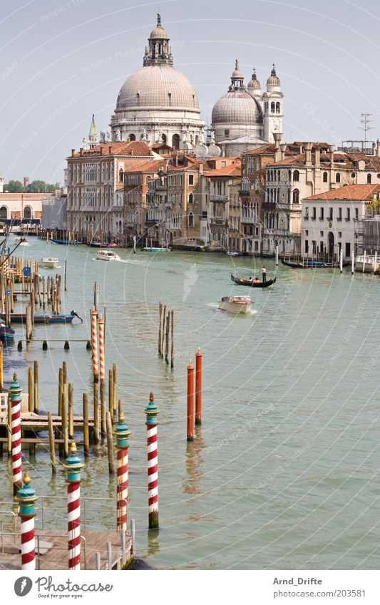 canal grande Beautiful Life Relaxation Leisure and hobbies Trip Far-off places Weather Manmade structures Building Tourist Attraction Boating trip Ferry