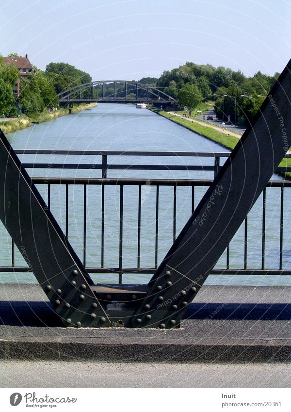 bridge Symmetry Watercraft Bridge Sewer