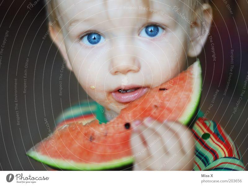 Child Blue Eyes Nutrition Food Boy (child) Eating Healthy Infancy Fruit Fresh Sweet Portrait photograph Toddler Appetite Juicy