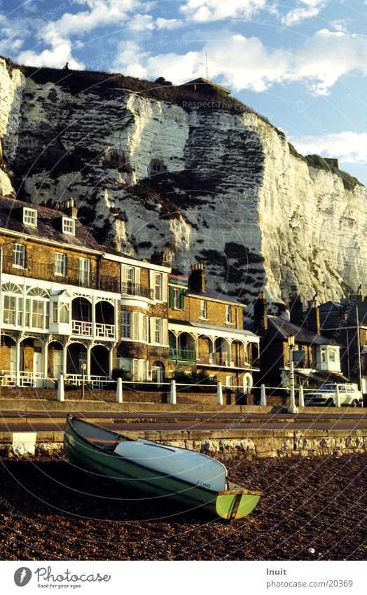Dover England Ocean Cliff Watercraft Great Britain Morning