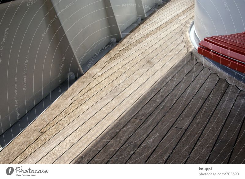 Cruise II Calm Vacation & Travel Tourism Trip Brown Red White Colour photo Exterior shot Pattern Structures and shapes Copy Space bottom Copy Space middle Day