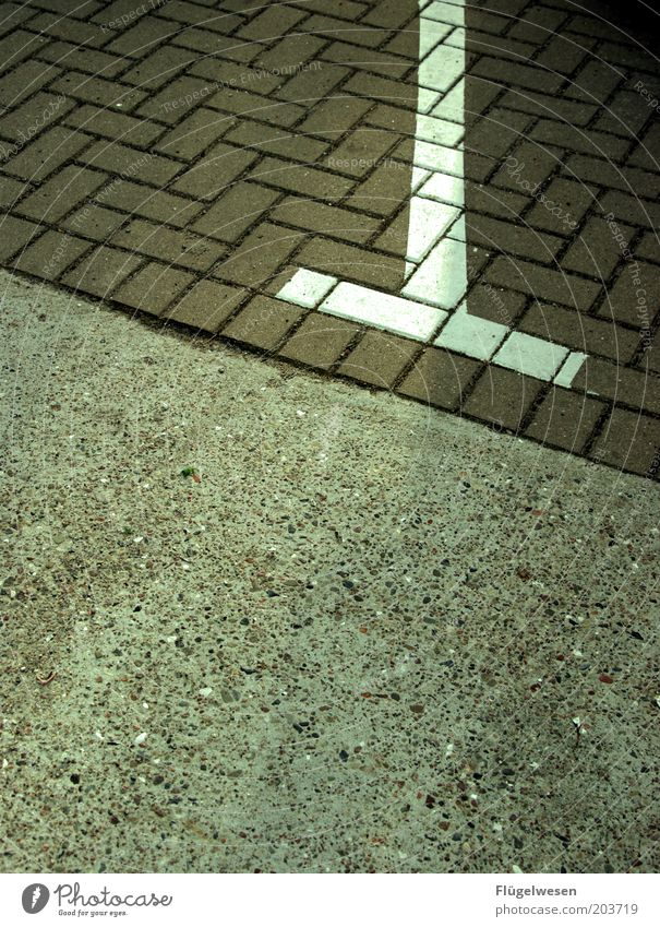 Stone Line Concrete Floor covering Parking lot Symmetry Seam Accuracy Boundary Lane markings Terminus