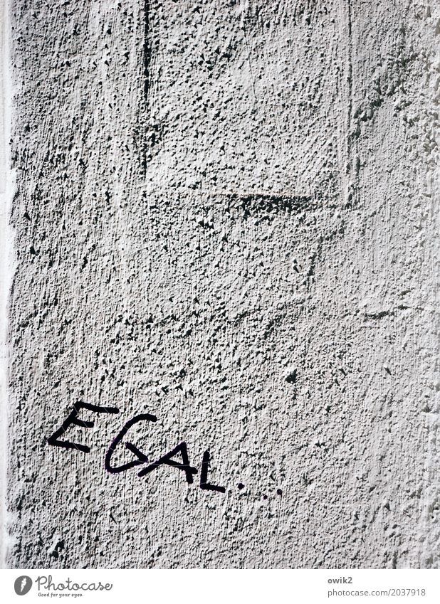 anyhow Wall (barrier) Wall (building) Facade Characters Ignorant Contempt Aggravation Grouchy Animosity Frustration Embitterment Defiant Resolve Disappointment