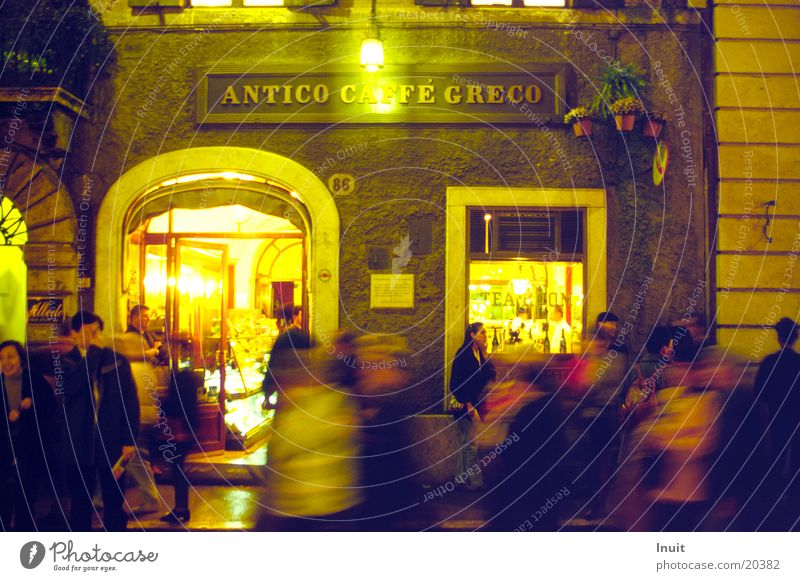 Europe Italy Restaurant Café Night life