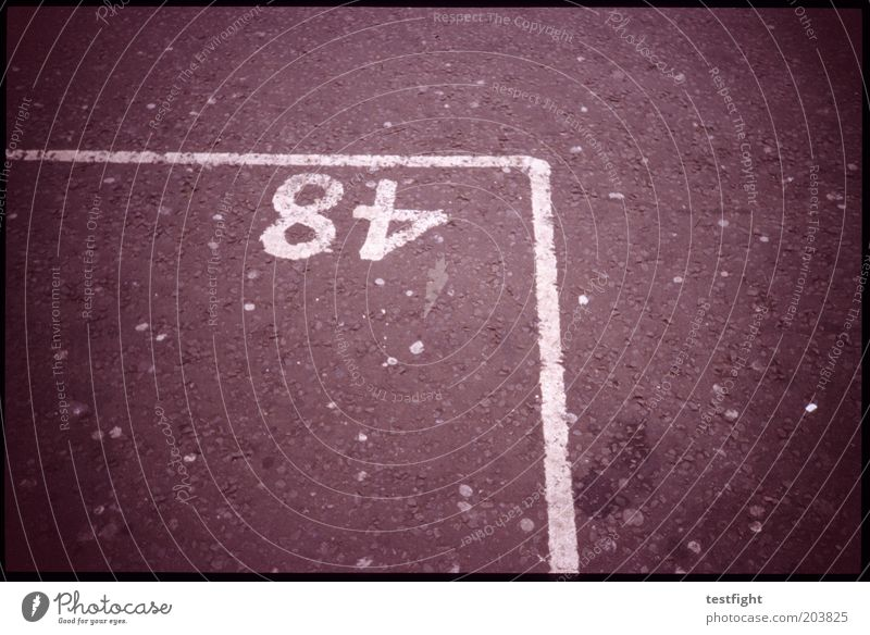 Street Arrangement Digits and numbers Parking lot Parking space Parking space number Marker line
