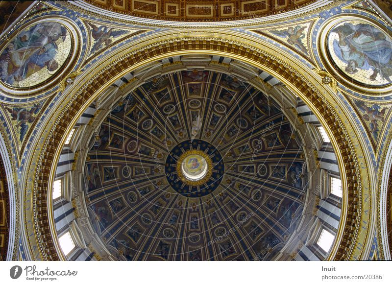 Peter's Cathedral Rome Italy Domed roof Vatican Leisure and hobbies Pope Architecture