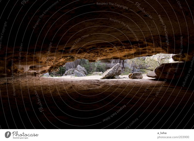inside out Nature Elements Alps Mountain Cave Stone Sand Threat Fantastic Large Natural Dry Brown Black Protection Claustrophobia Loneliness Uniqueness