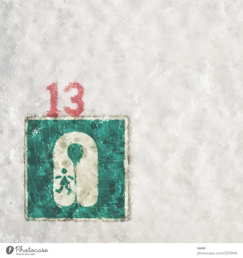 White Green Funny Ice Arrangement Signage Frost Help Digits and numbers Symbols and metaphors Sign Frozen Warning label Risk Disaster Rescue
