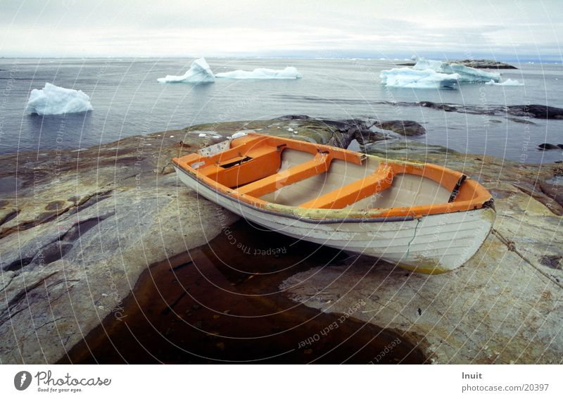 boat The Arctic Greenland Iceberg Ocean Navigation Rock Far-off places