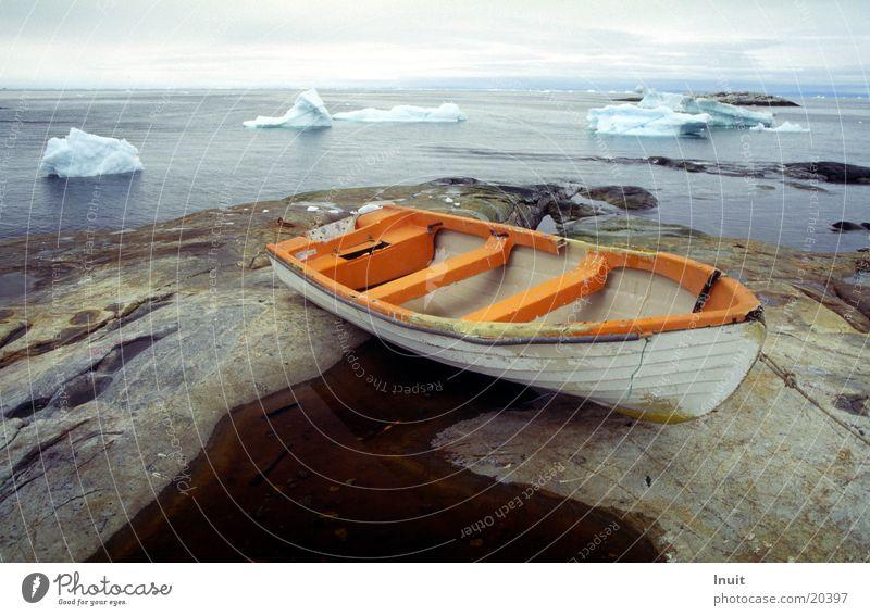 Ocean Far-off places Rock Navigation Iceberg Greenland The Arctic