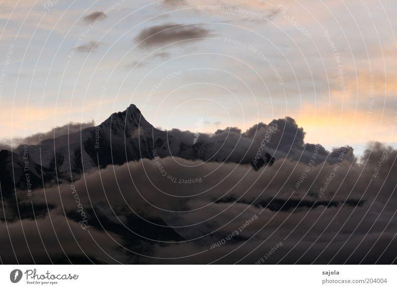 meilixue shan - kawagebo II Environment Nature Landscape Elements Sky Clouds Mountain Peak Snowcapped peak Glacier China Yunnan Tibet Asia Esthetic Power