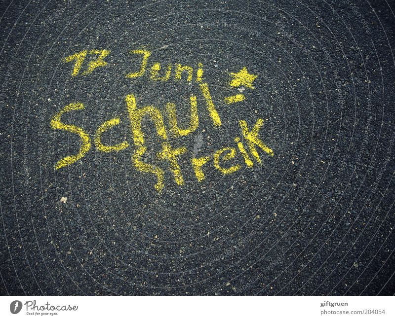 Yellow Street School Graffiti Star (Symbol) Characters Education Asphalt Letters (alphabet) Lessons Parenting Painted Assembly Month Require