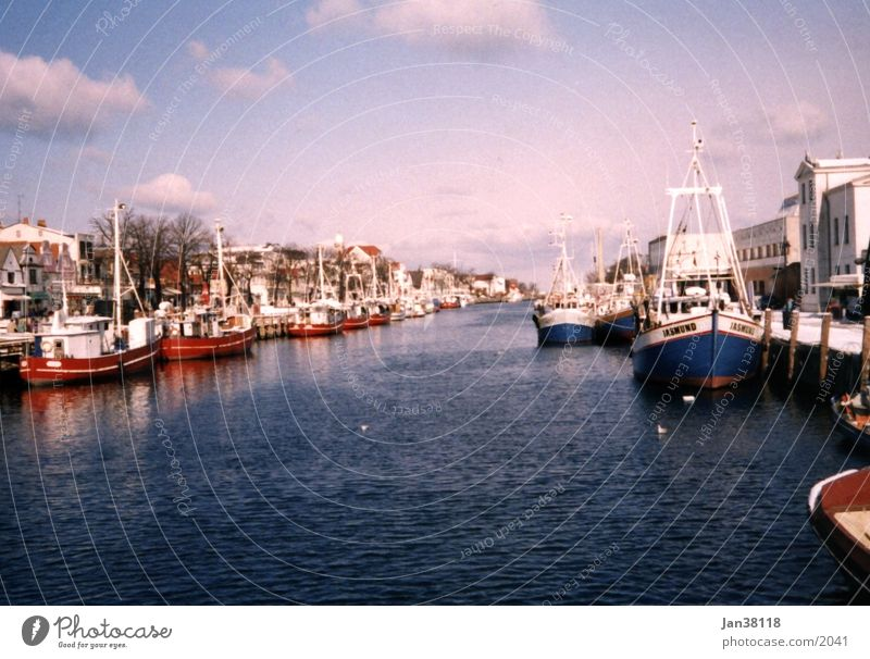 Warnemuende Watercraft Warnemünde Harbour