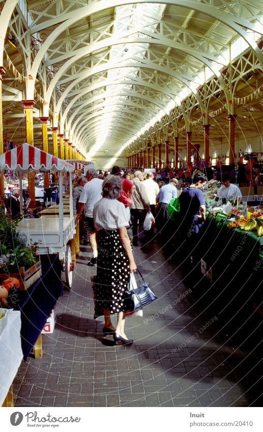 market hall England Nutrition Markets Warehouse Vegetable Stand Perspective