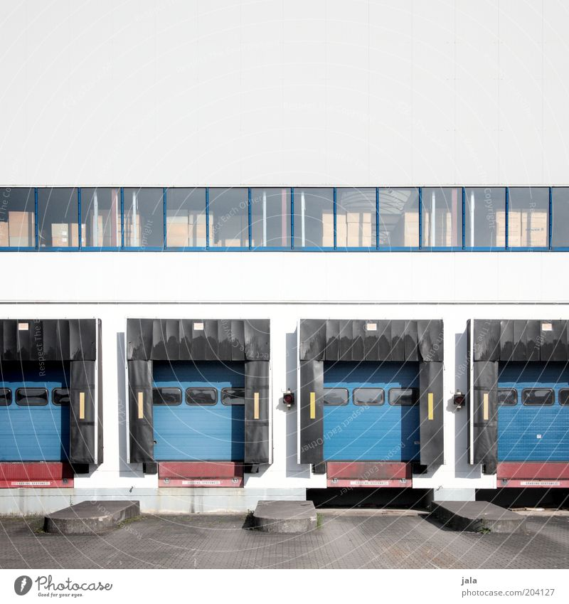 Window Building Architecture Large Logistics Gate Manmade structures Company Trade Warehouse Commerce Storage Shipping Ramp Station Depot