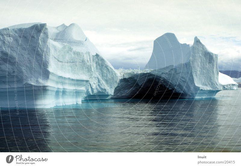 Iceberg 03 Greenland Ocean Cold Blue