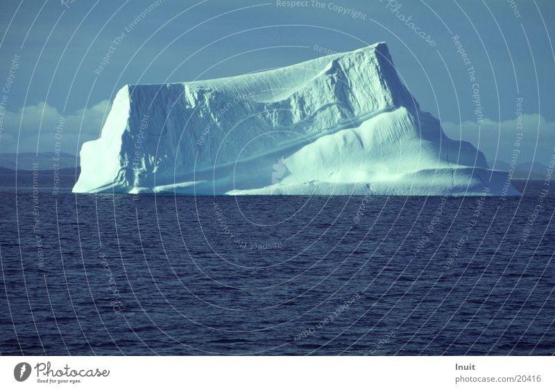 Iceberg 02 Greenland Ocean Cold Blue