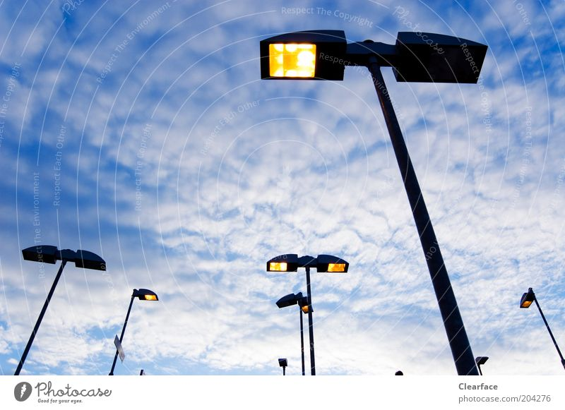 Street Energy Lantern Street lighting Capital city Advancement Clouds in the sky