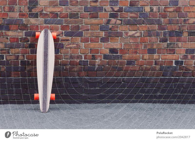 #AS# PolaBoard Art Work of art Esthetic Snowboard Boardslide Longboard Skateboard Skateboarding Skate store Brick Brick red Brick construction Hip & trendy