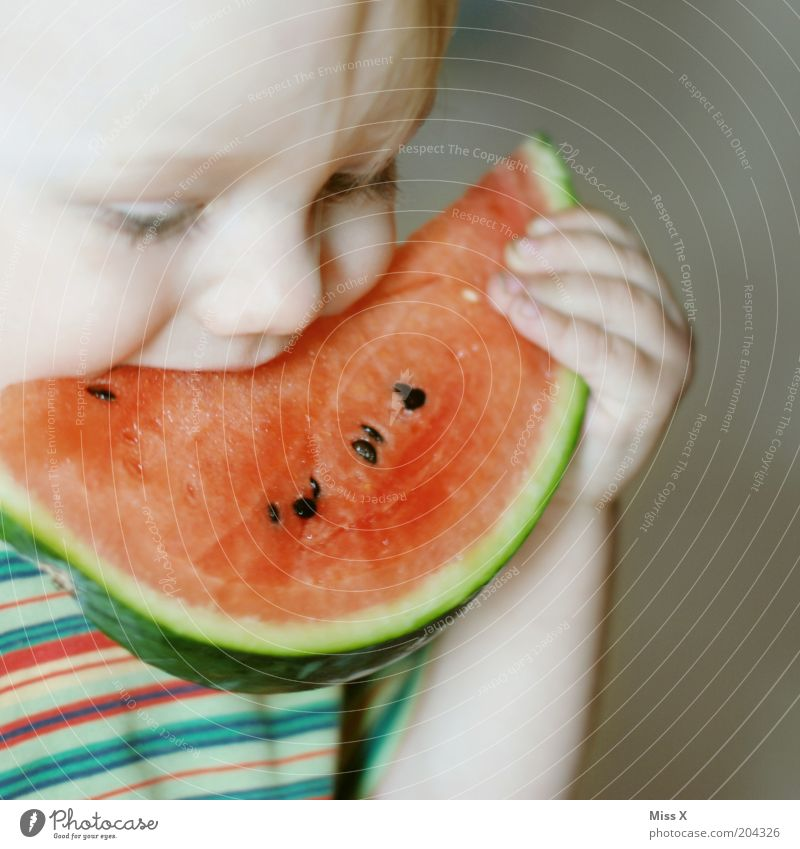 Why is my mouth so small Food Fruit Nutrition Eating Organic produce Vegetarian diet Child Toddler Infancy Mouth 1 - 3 years Fresh Healthy Large Delicious Juicy