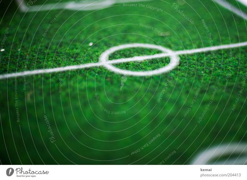 Green Sports Line Soccer Round Lie Grass surface Football pitch Doormat Artificial lawn Center line Center circle