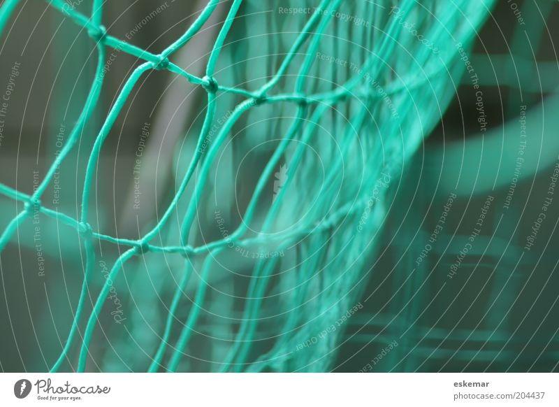 Green Sports Movement Soccer Net Goal Interlaced Knot Soccer Goal Node