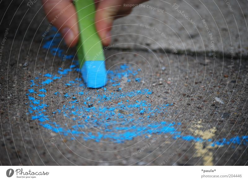 Blue Green Beautiful Calm Colour Street Gray Dream Art Infancy Contentment Natural Fingers Uniqueness Transience Simple