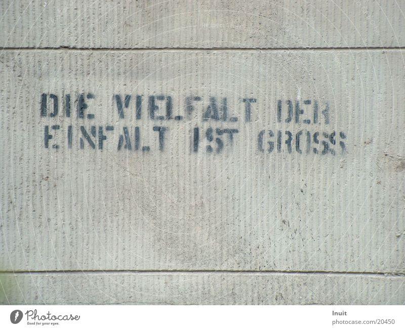 simplicity Versatile Stencil Figure of speech Opinion Graffiti slogan