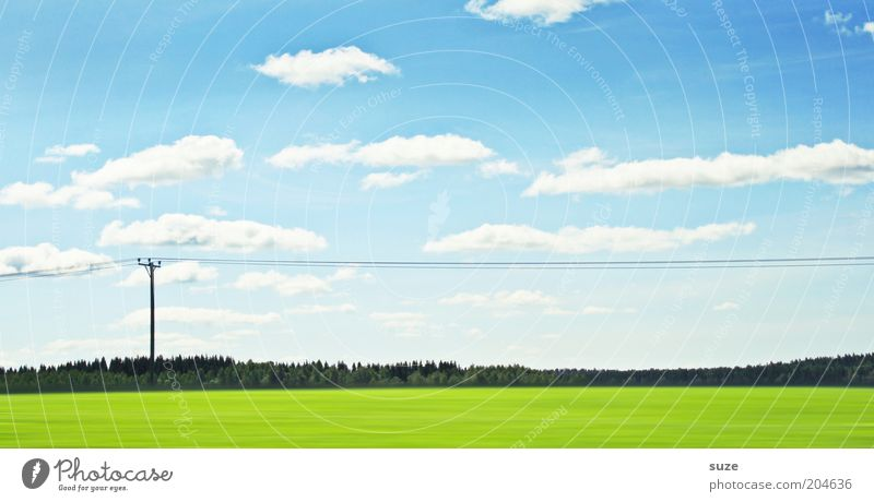 Nature Beautiful Sky Green Blue Vacation & Travel Clouds Meadow Landscape Air Field Environment Energy industry Electricity Travel photography Pasture