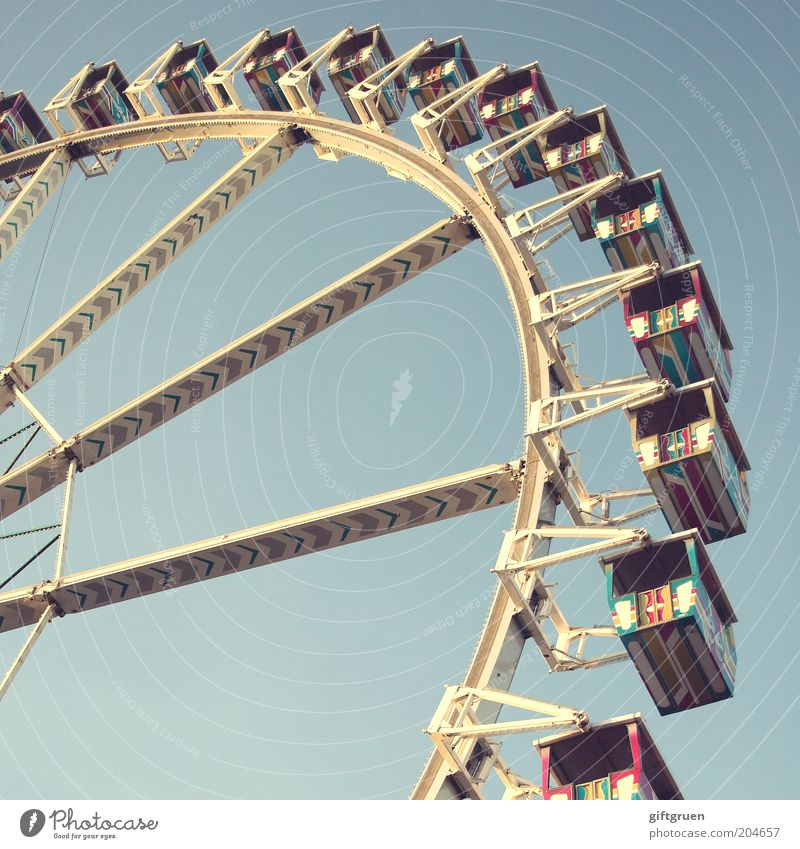 today's the day! Leisure and hobbies Trip Feasts & Celebrations Fairs & Carnivals Event Large Round Moody Movement circulation all around Rotate Ferris wheel