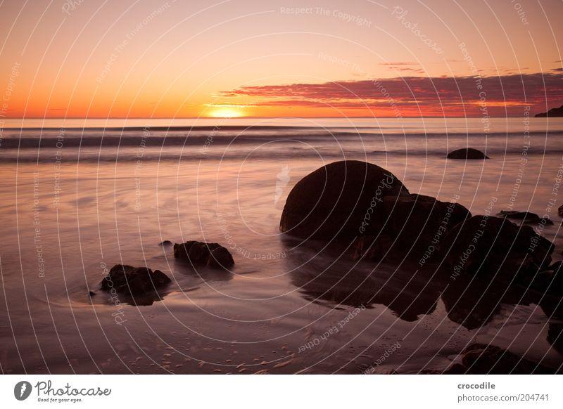New Zealand 73 Environment Nature Landscape Elements Earth Clouds Horizon Sun Sunrise Sunset Sunlight Beautiful weather Coast Beach Ocean Esthetic Exceptional