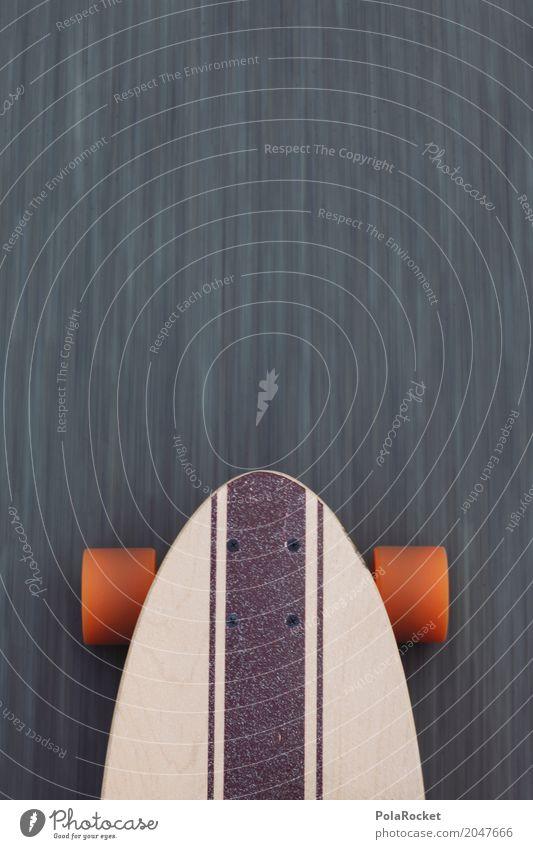 Lifestyle Sports Movement Orange Leisure and hobbies Cool (slang) Asphalt Athletic Skateboarding Dynamics Longboard