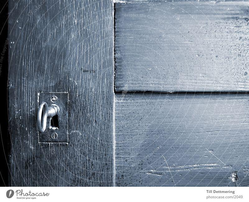 Wood Door Things Key Keyhole