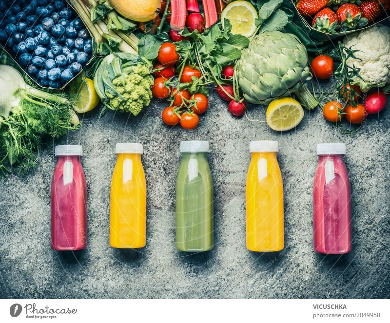 Summer Healthy Eating Food photograph Life Style Design Fruit Fitness Beverage Vegetable Organic produce Bottle Vegetarian diet Diet