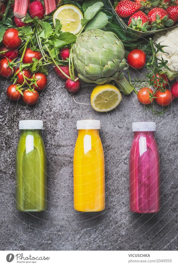 Healthy Eating Life Yellow Style Food Design Fruit Fitness Beverage Vegetable Organic produce Make Bottle Vegetarian diet Diet