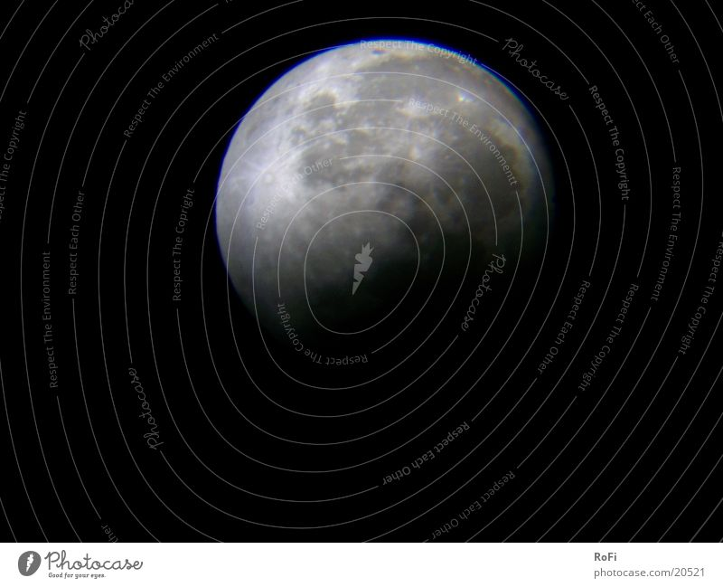 Sky Moon Celestial bodies and the universe Astronomy Volcanic crater Lunar eclipse