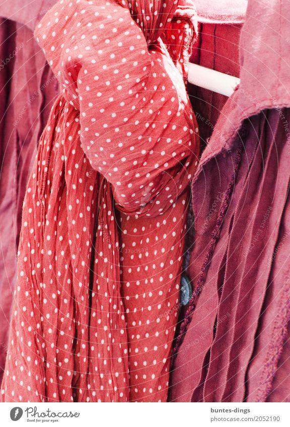 dots Fashion Clothing T-shirt Shirt Rag Accessory Scarf Elegant Firm Brash Friendliness Happiness Fresh Happy Beautiful Sustainability Cute Red